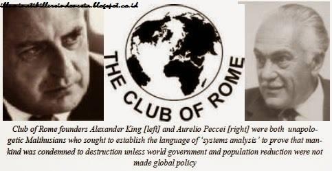 Club Of Rome Barisan Terdepan Illuminati!
