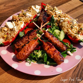 Beef Kebabs recipe slimming world