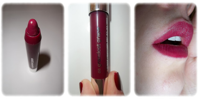 Swatch Baume à lèvres Chubby Stick Intense - Clinique - Teinte 08 Grandest Grape
