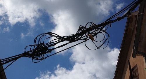 Illegal Tapping broadband over power lines