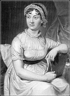 drawing of Jane Austen from wpclipart.com