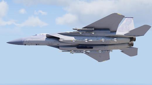 Arma3用F-15 Eagle MOD