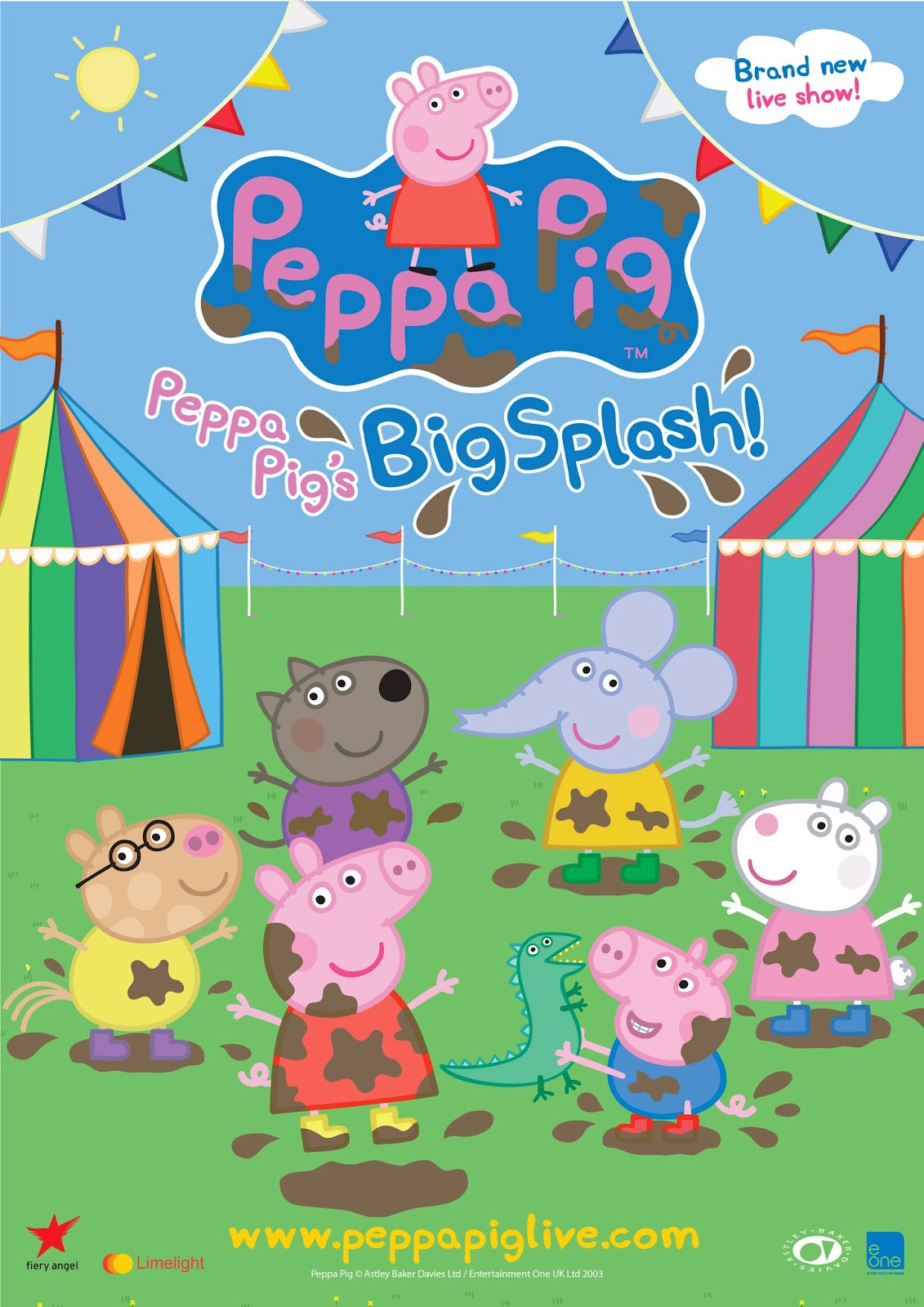 Johnson Babies Peppa Pig S Big Splash Live Review
