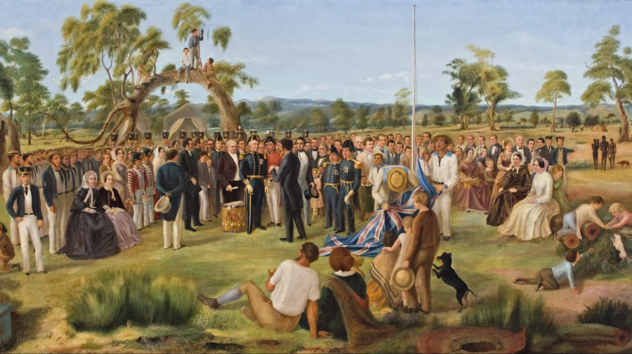 The Proclamation of South Australia