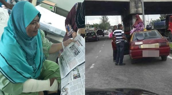 Viral Gambar Terduduk Atas Bumbung Teksi, Wanita Itu KONGSI Kejadian Ajaib Yang Berlaku!