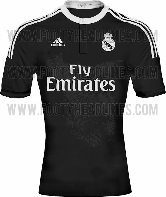 La tercera camiseta del Real Madrid será negra d7e69c48f0ae4