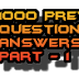 1000 Previous Questions and Answers  for PSC/SSC/UPSC/RRB Exams- Part-1 (Page-1)