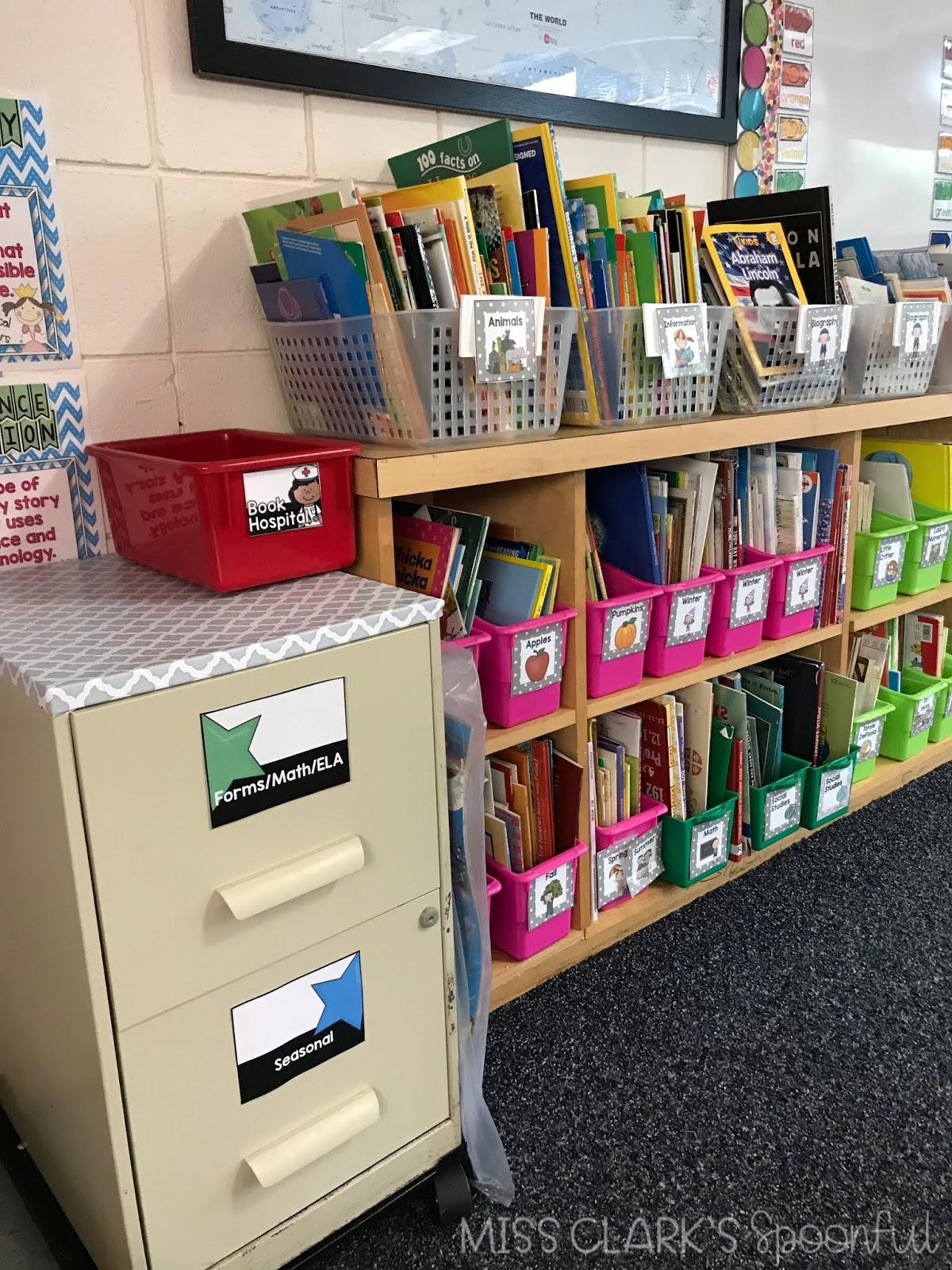 classroom book hospital