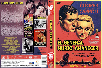 Cover, dvd, carátula: El general murió al amanecer | 1936 | The General died at dawn