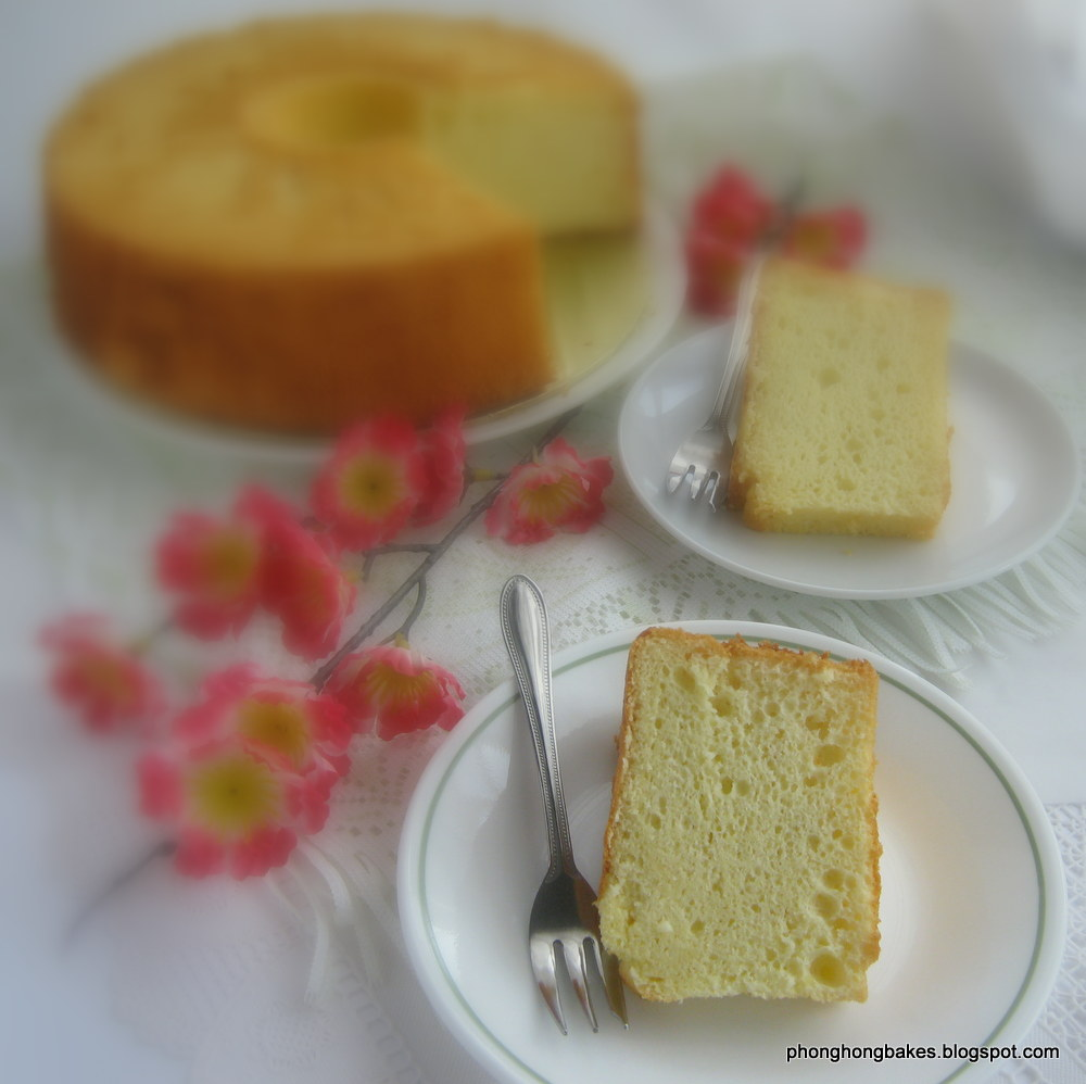 It Has Been Awhile Since I Baked A Chiffon Cake I Was Wondering If I Could  Still Remember How To Make One And If It Would Turn Out Well