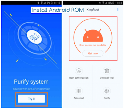 Root Qualcomm Device KingRoot Tool