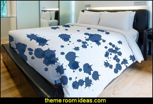Splatters Duvet Cover