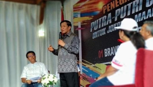 Keluarga TNI di Kompleks Cijantung Deklarasi Dukung Jokowi-Ma'ruf