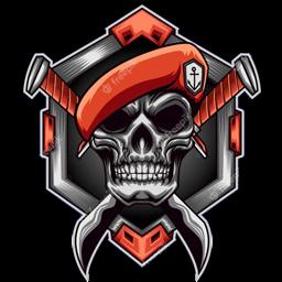logo kopassus tengkorak