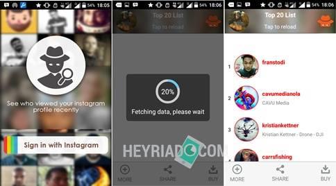 Cara Mengetahui Orang Yang Melihat Profil Instagram Kita