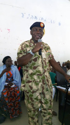 NYSC DIRECTOR-GENERAL SEEKS SUPPORT FOR THE SCHEME