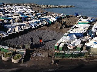 Spiagge Genovesi: la Guardia Costiera scopre un ripascimento abusivo