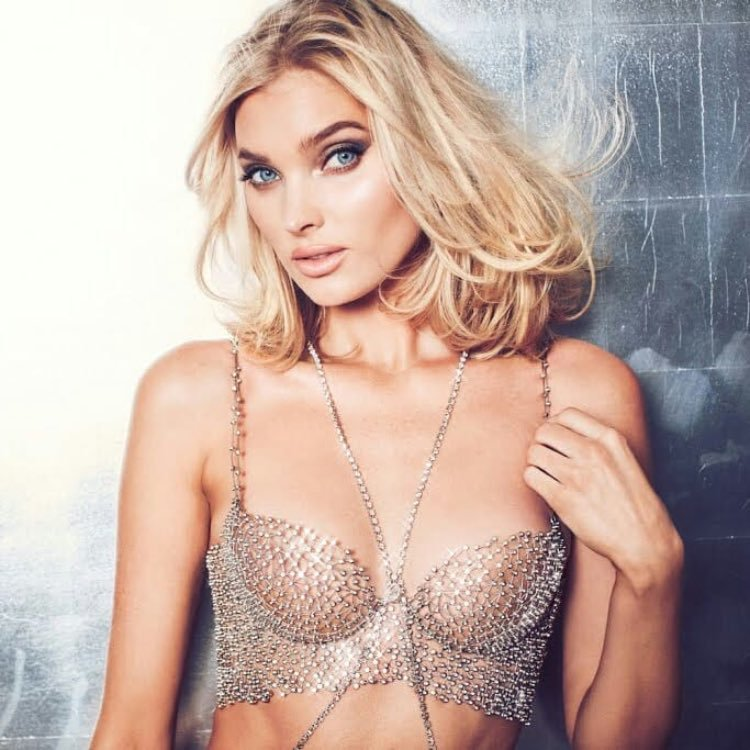 Elsa Hosk unveils the $1M VS Fantasy Bra 2018