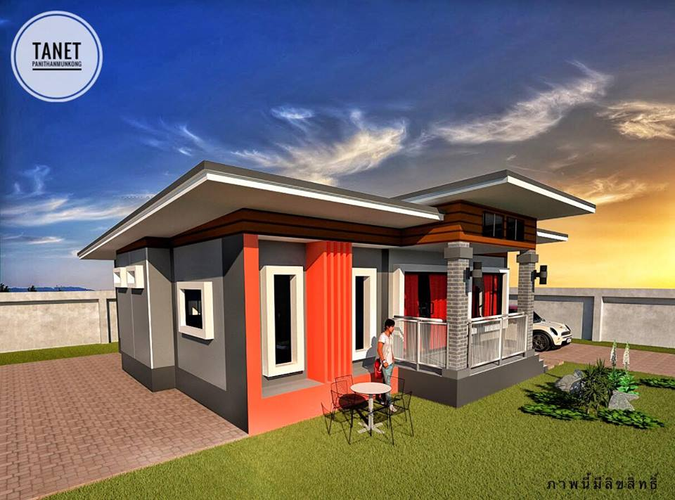 It is pretty normal to want a home with a beautiful design. If possible a design that is stunning and will stand-out in the neighborhood, especially nowadays that house designs are almost the same especially if you have in subdivisions or villages!  Although there is nothing wrong with it, we can always level up the design of our dream house. It said that the house is the reflection of the homeowners and a product of hard work and perseverance of one's self. So if we can, of course, we want a house with a design we can be proud of right? If it happens that you are searching a design for your dream home, you should check the following seven houses designed by Tanet Panithanmunkong from Thailand! Modern, Stunning and indeed design that will stand out in your location.