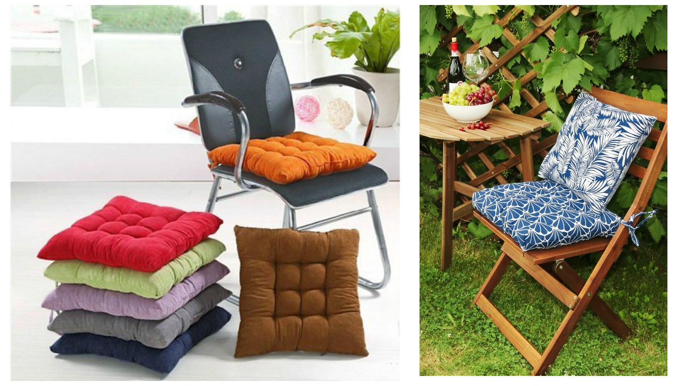Aprende c mo hacer cojines o almohadones para sillas paso - Cojines redondos para sillas ...