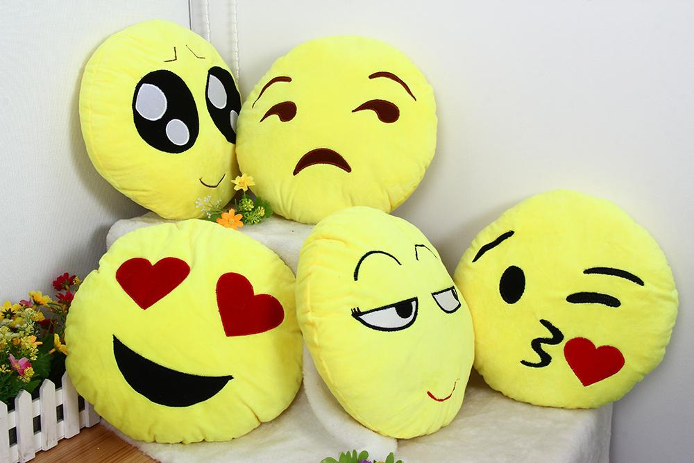 Almofadas Emoji Smiley - Gearbest