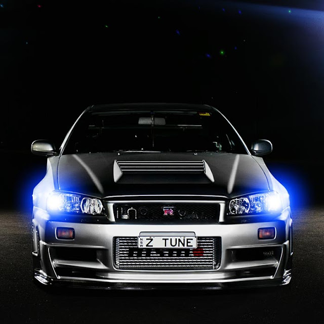 R34 Lights Audio Visualizer Wallpaper Engine