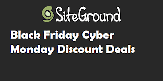 Siteground Black Friday Discount Deals