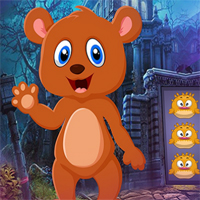 Games4King Cartoon Brown Bear Escape