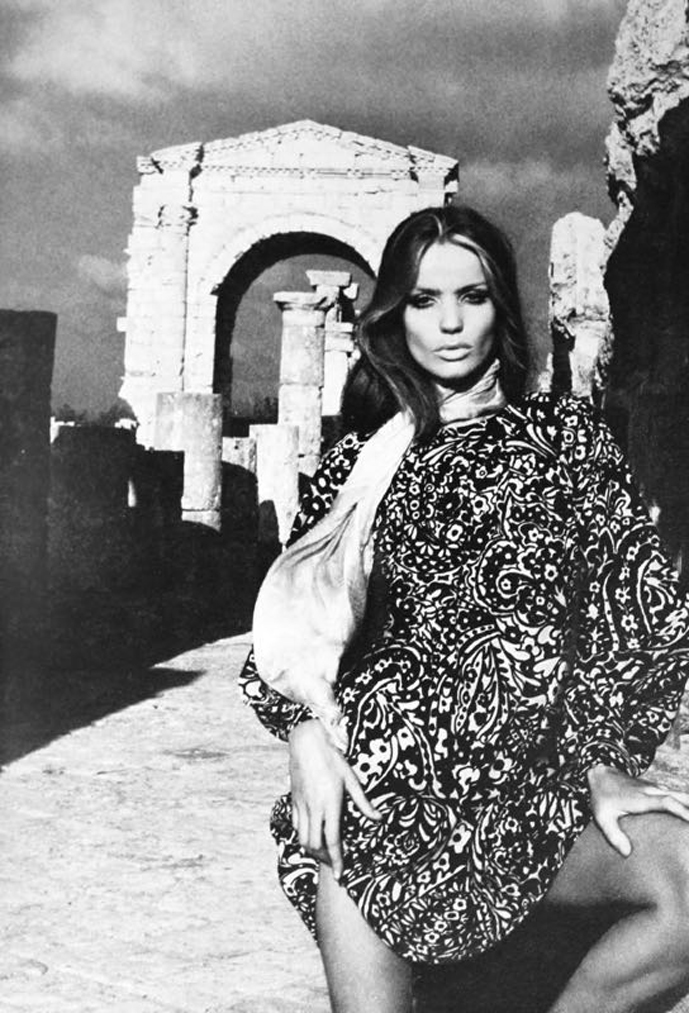 Verushka in Yves Saint Laurent for Vogue Paris 1969 via www.fashionedbylove.co.uk british fashion blog