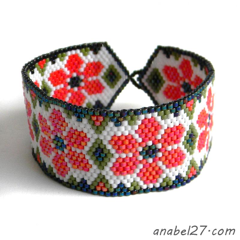 купить браслет из бисера в россии подарок девушке