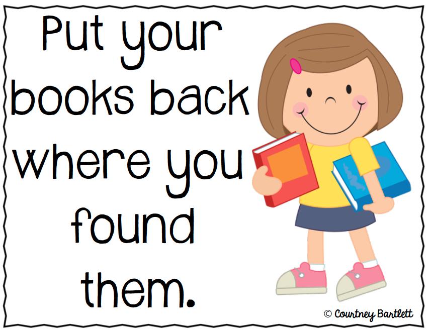 http://www.teacherspayteachers.com/Product/Classroom-Library-Expectations-posters-freebie-311150