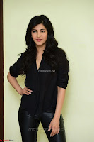 Shruti Haasan Looks Stunning trendy cool in Black relaxed Shirt and Tight Leather Pants ~ .com Exclusive Pics 070.jpg