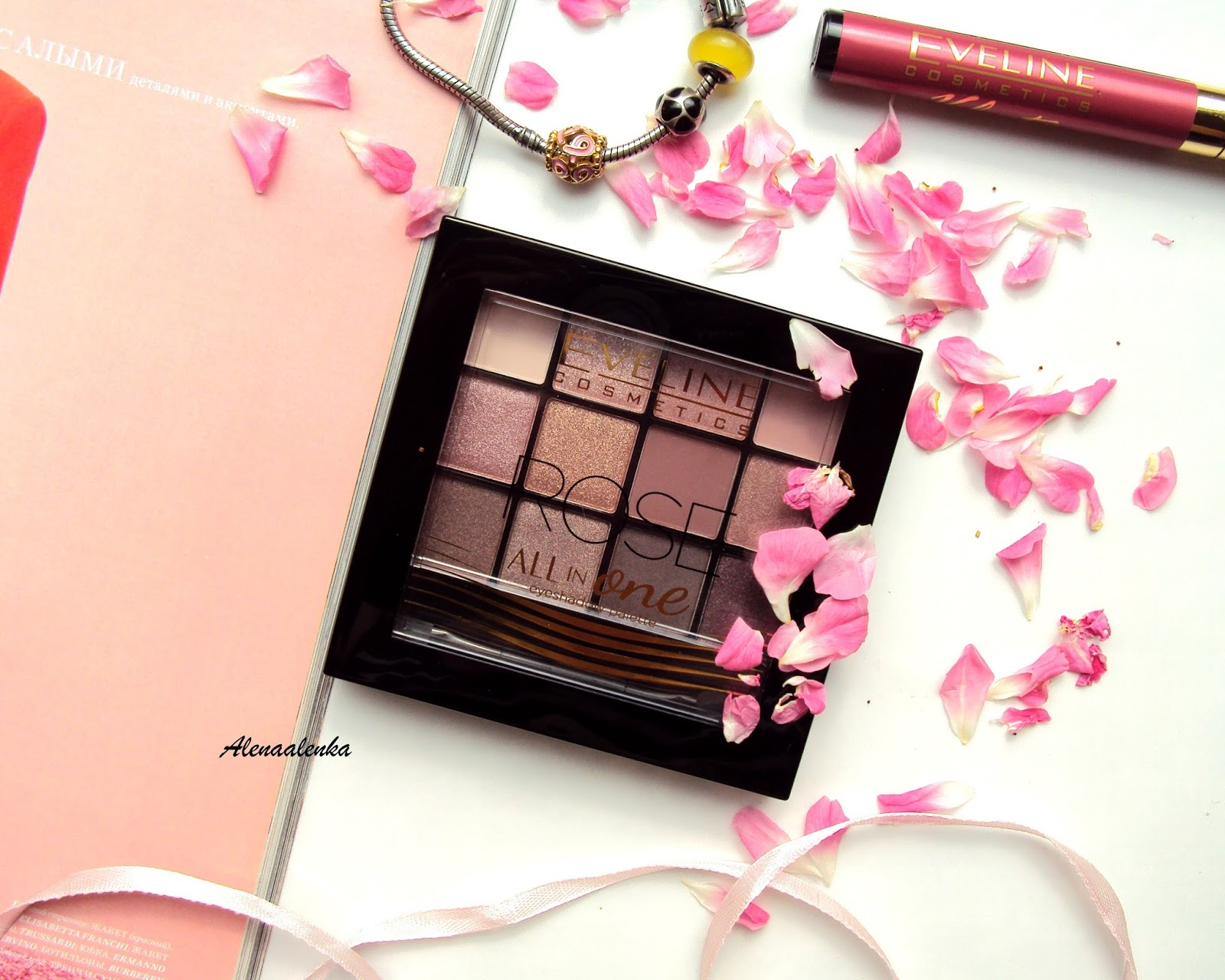 d6537c6ebc2 Eveline Cosmetics Rose All In One Eyeshadow Palette  02. Reviews ...