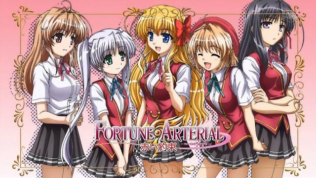 Fortune Arterial: Akai Yakusoku (12/12) + OVA (70MB) (HDL) (Sub Español) (Mega)