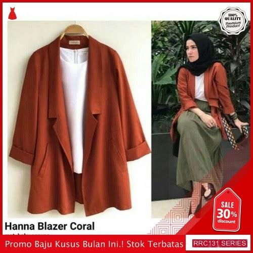 RRC131H40 Hanna Blazer Wanita Terbaru BMGShop