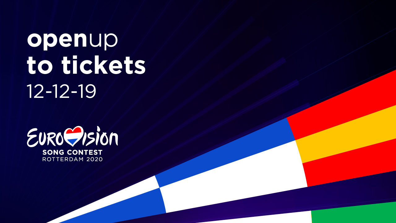 LAS PRIMERAS ENTRADAS DE EUROVISION 2020 SALDRÁN A LA VENTA EL 12 DE DICIEMBRE