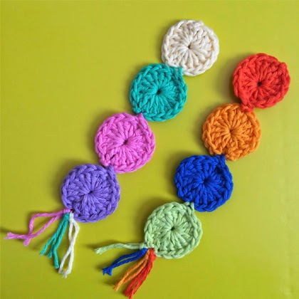Crochet: Free Circle Bookmark Pattern