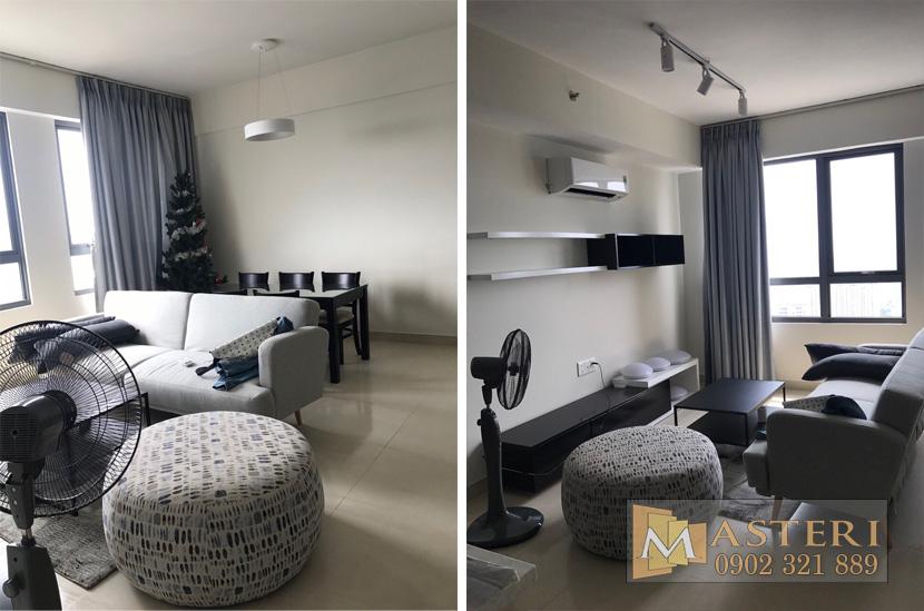 Cho thuê căn hộ Masteri Thảo Điền 3 phòng ngủ T1-B30.06