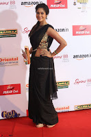 Sindhu looks fabulous in Black Saree designer choli at Mirchi Music Awards South 2017 ~  Exclusive Celebrities Galleries 056.JPG