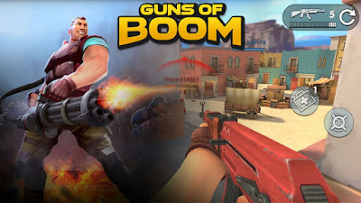 Guns Of Boom Mod Apk v1.8.0 Full Terbaru