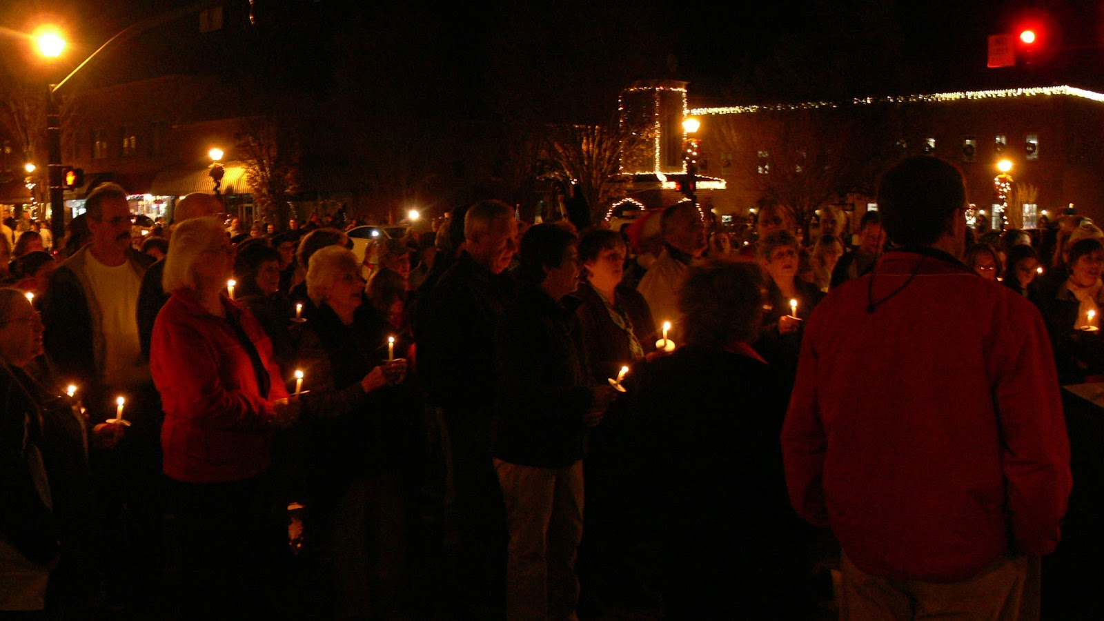 Candlelight Service in Franklin