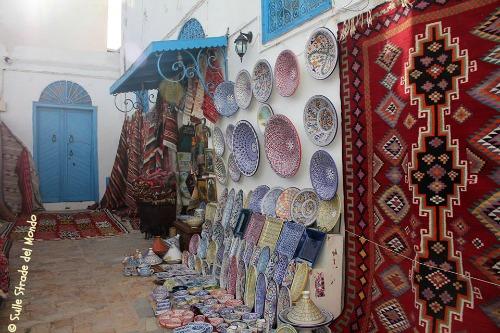 Sidi Bou Said artigianato