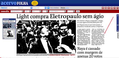 O INACREDITÁVEL Geraldo Alckmin