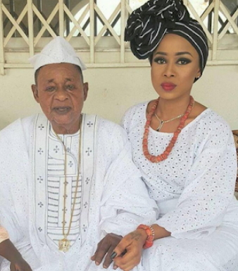 alaafin oyo wives 4 babies 9 days