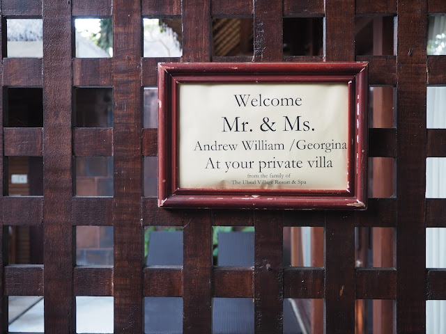 ubud village resort welcome