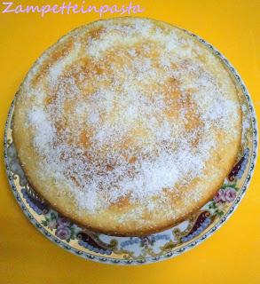 Torta con cocco e marmellata