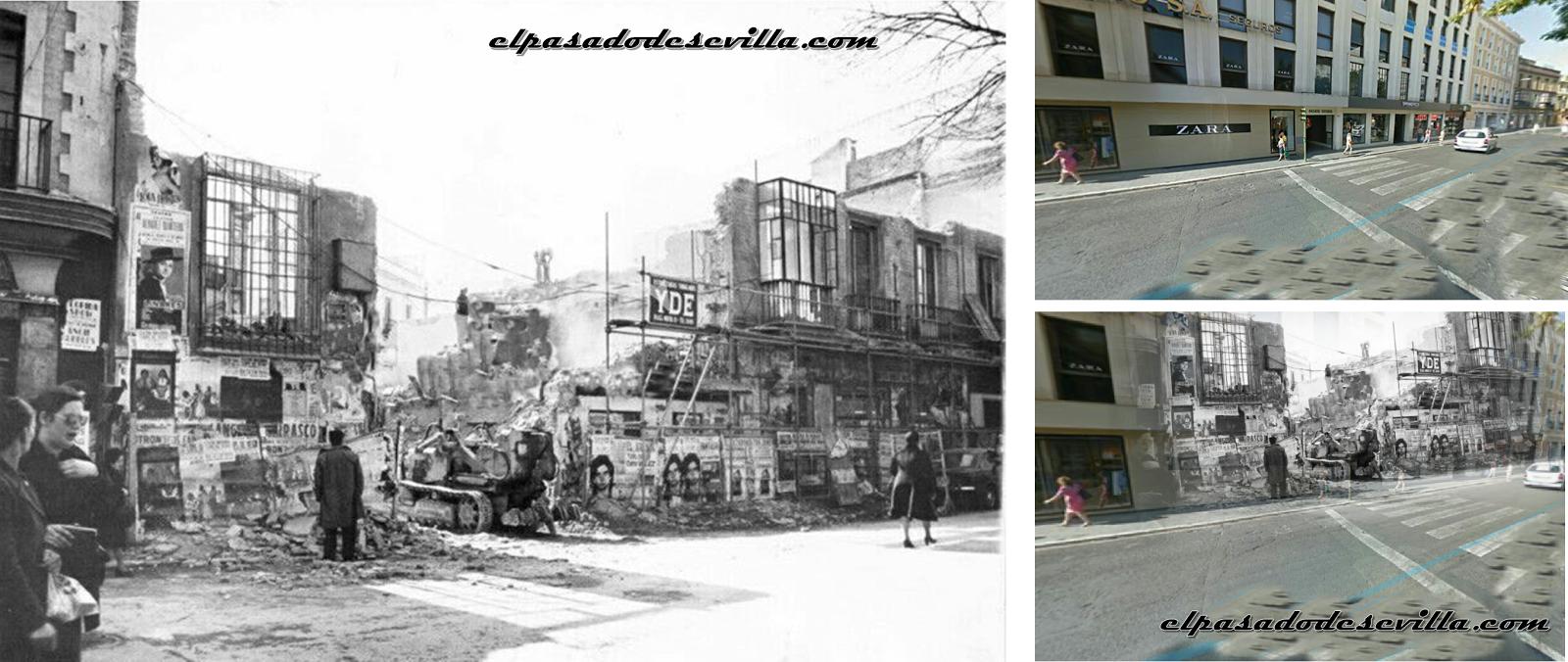 El pasado de sevilla for Muebles alarcon calle trajano