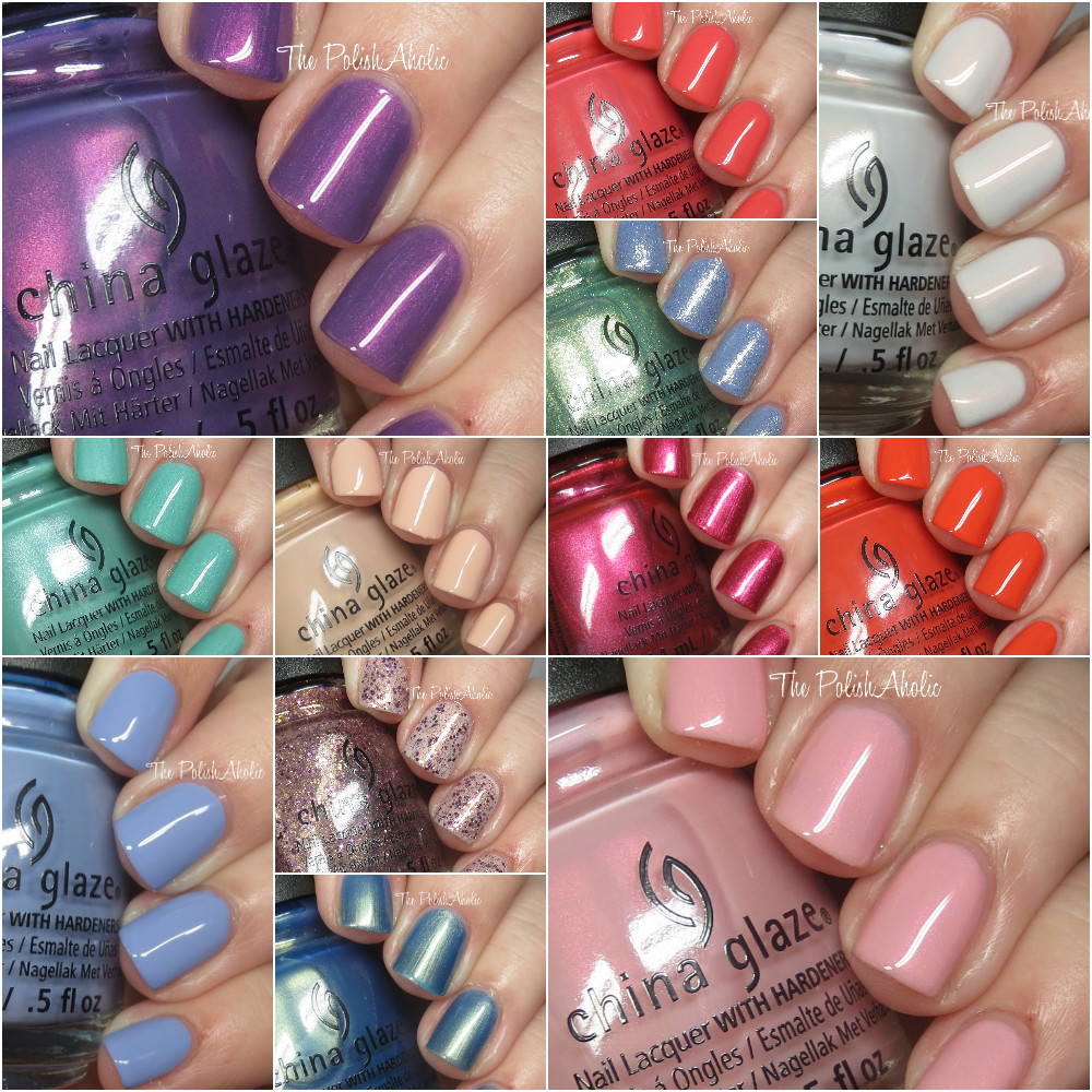 The PolishAholic: China Glaze Holiday 2016 Seas and Greetings ...