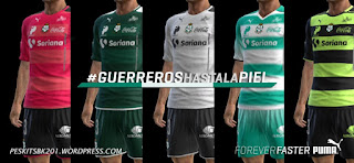 kit Santos Laguna 2016-2017 Pes 2013 By BK-201