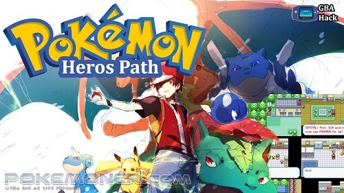 Pokemon Heros Path